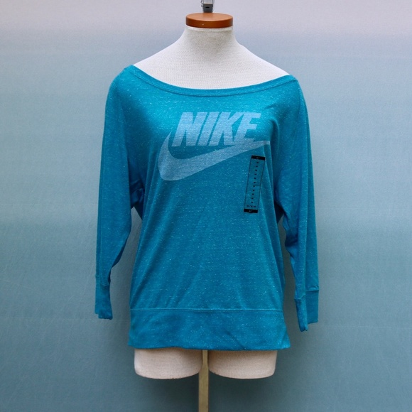 Nike Gym Vintage Crew Lightweight Sweatshirt Sz M NWT